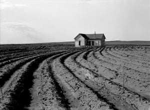Tractored Out, Childress County, Texas, 1938, by Dorothea Lange