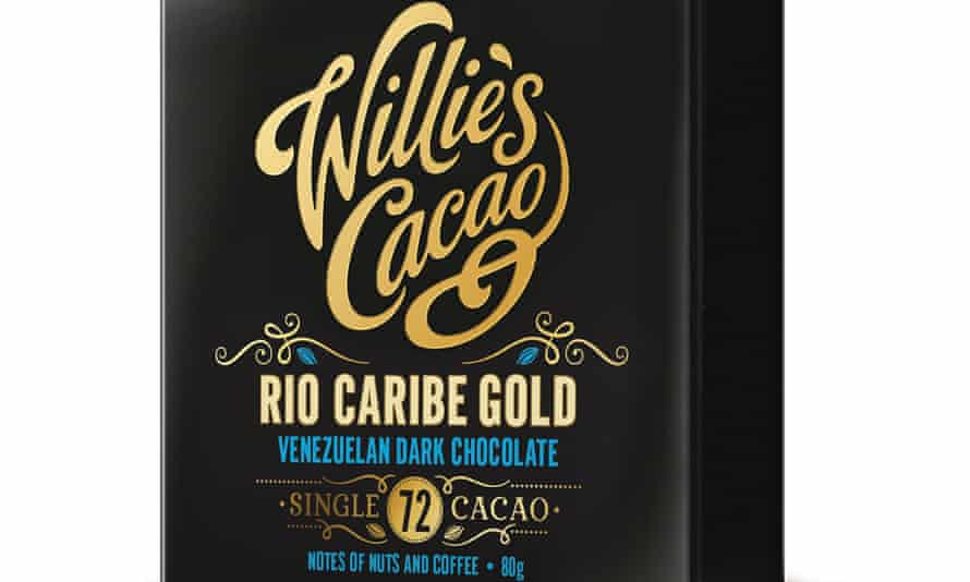 Bean-to-bar, and in the supermarkets: Willie's Cacao.