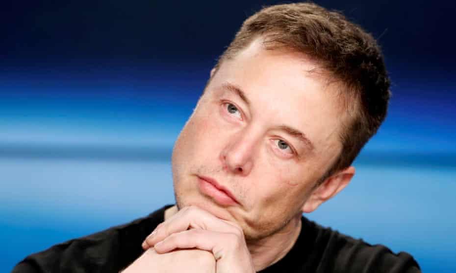 Elon Musk in 2018