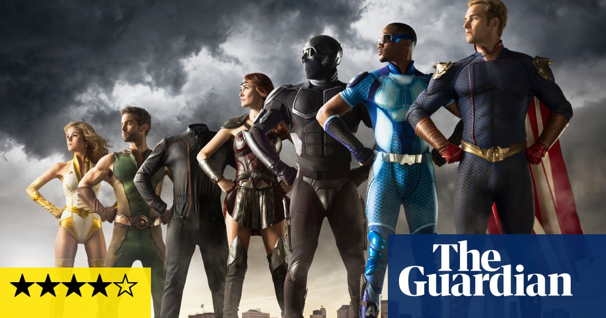 The Boys review – sick of superheroes? Here's the remedy