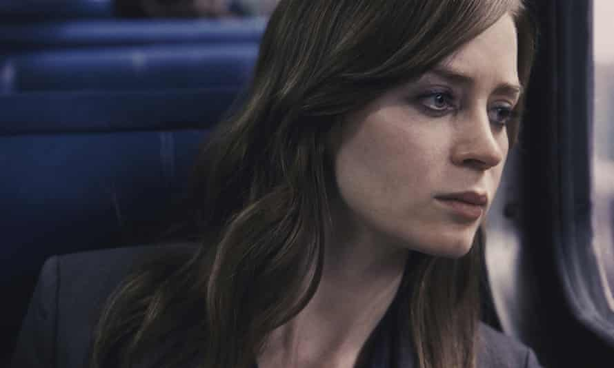 Emily Blunt appears in a scene from The Girl on the Train.