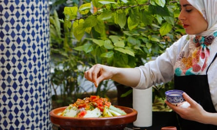 Spice of life: learning to cook a vegetable tagine.