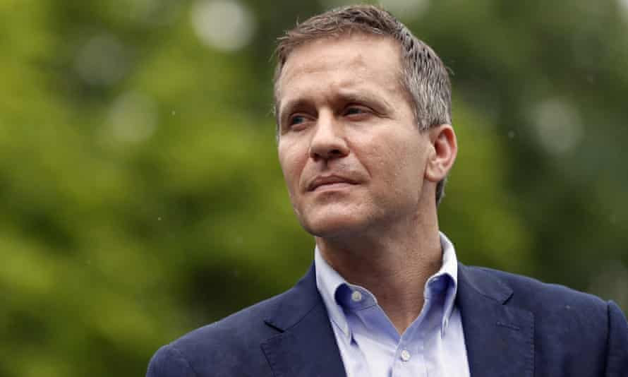 Eric Greitens resigned as Missouri governor in 2018, less than two years into his first term, over allegations of sexual assault.