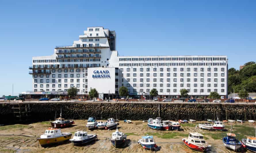 Britannia's Grand Burstin hotel in Folkestone
