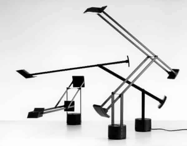 Richard Sapper's Tizio lamp is one of the bestselling lights ever.