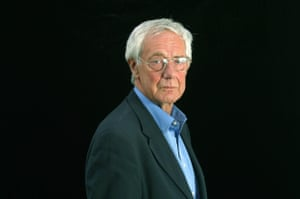Norman, pictured at the Edinburgh international book festival, where he talked about his memoir 'And Why Not?' in 2003