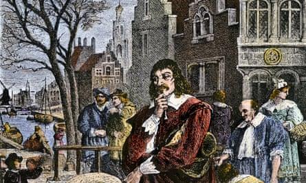 Rene Descartes in Amsterdam