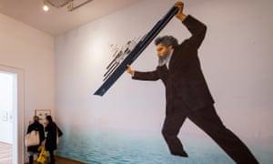 William Morris runs amok … part of Jeremy Deller's Venice show in 2013.