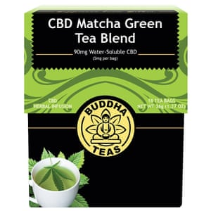 Buddha Teas CBD Matcha Green Tea Blend