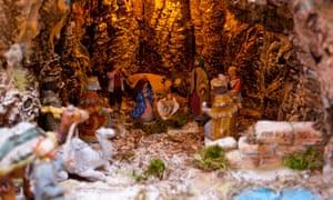 Christmas cribs in San Gregorio Armeno.
