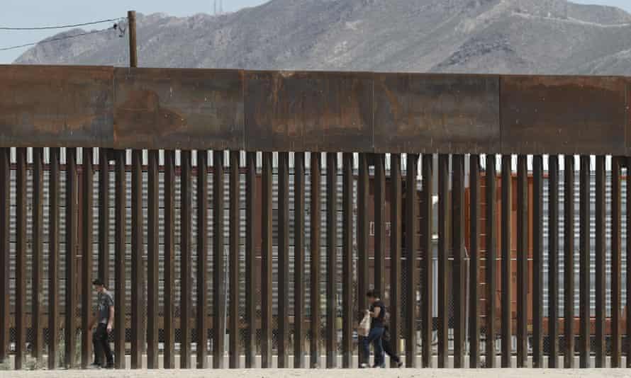 A border wall in El Paso, Texas.