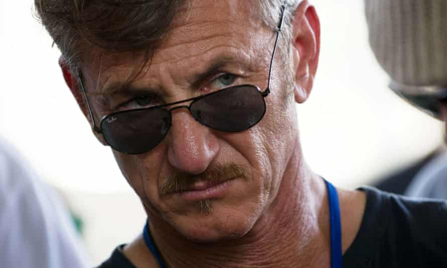 'We all want this drug problem to stop' ... Sean Penn urges for a change of focus.