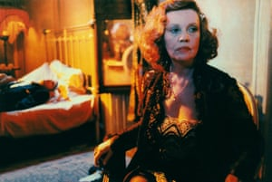 Jeanne Moreau in Querelle, 1982