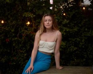 Caroline Calloway poses for a portrait on 16 April 2020 in Sarasota, Florida.