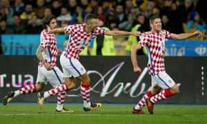 Croatia secured their place at the finals with a 2-0 win in Ukraine.