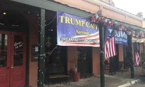 The Trump Cafe in Bellville, Texas.