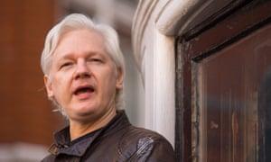 Julian Assange sought refuge in the Ecuadorian embassy in 2012.