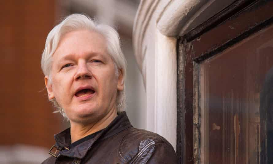 Julian Assange sought refuge in the Ecuadorian embassy in 2012.