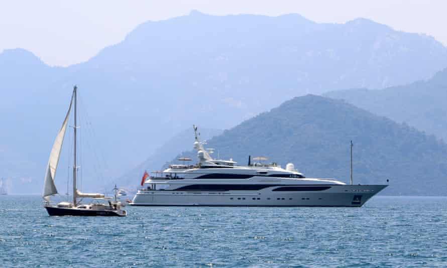Green's super-yacht Lionheart.