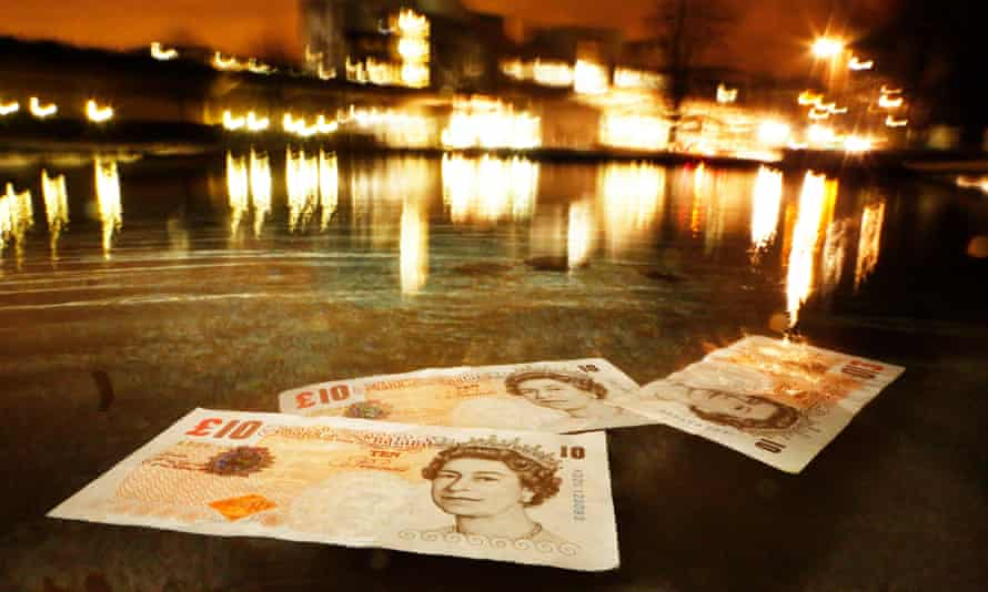 'Only about a quarter of cash put into circulation is used to buy and sell things.'