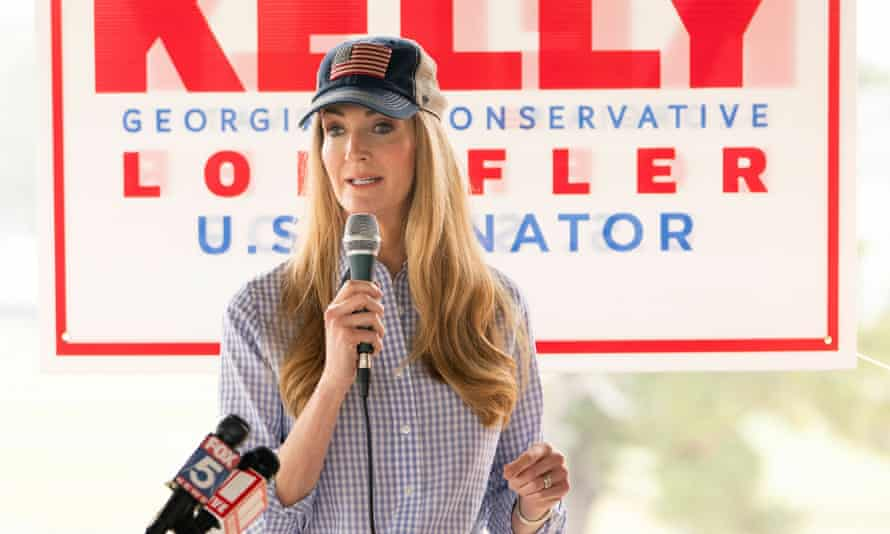 Senator Kelly Loeffler has embraced a follower of the toxic rightwing conspiracy theory QAnon.