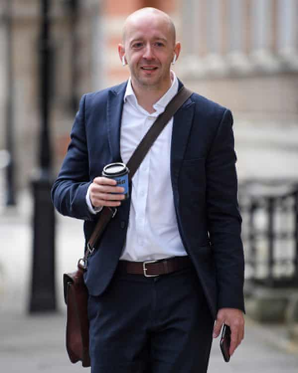 Lee Cain reported after being appointed as Boris Johnson's chief spin doctor.