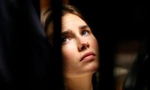 Amanda Knox on trial in 2011