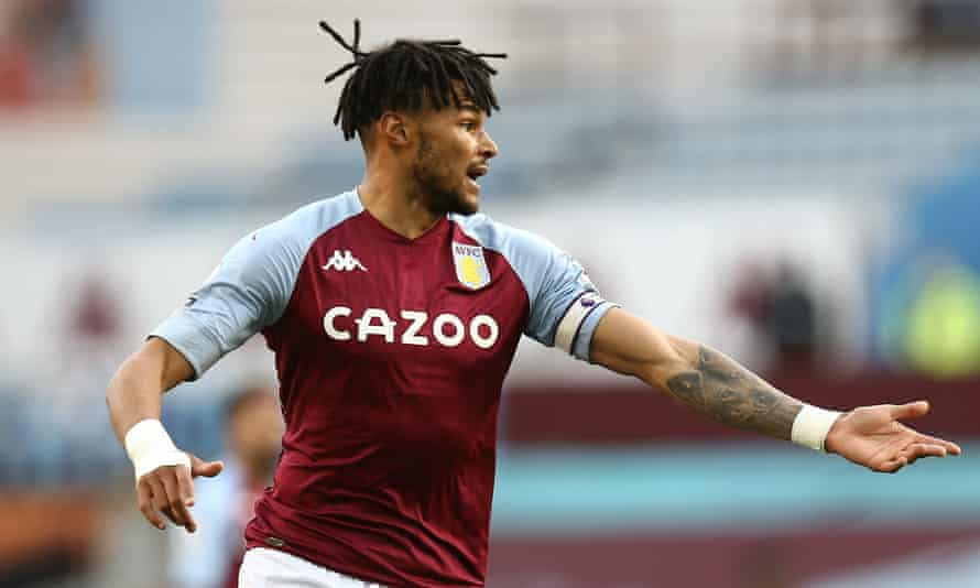 Tyrone Mings, pictured playing for Aston Villa this month.