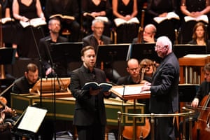 Countertenor Christopher Lowrey makes his BBC Proms debut in Handel's Israel in Egypt.