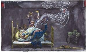 Martin Rowson cartoon for 14.11.20