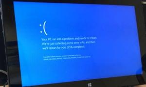 Windows 10 blue screen of death (Bsod) crash