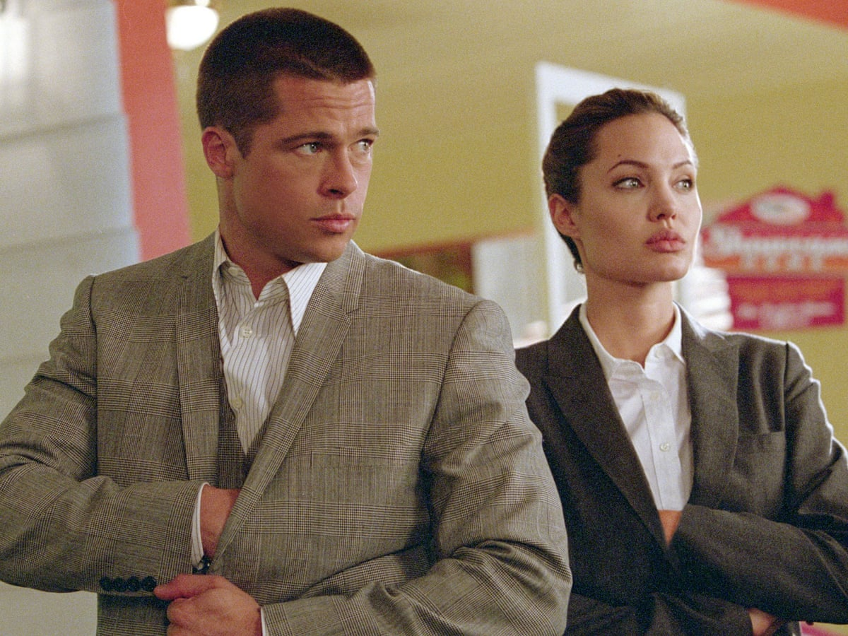 Did Mr Mrs Smith Predict The Fall Of Brangelina Brad Pitt The Guardian