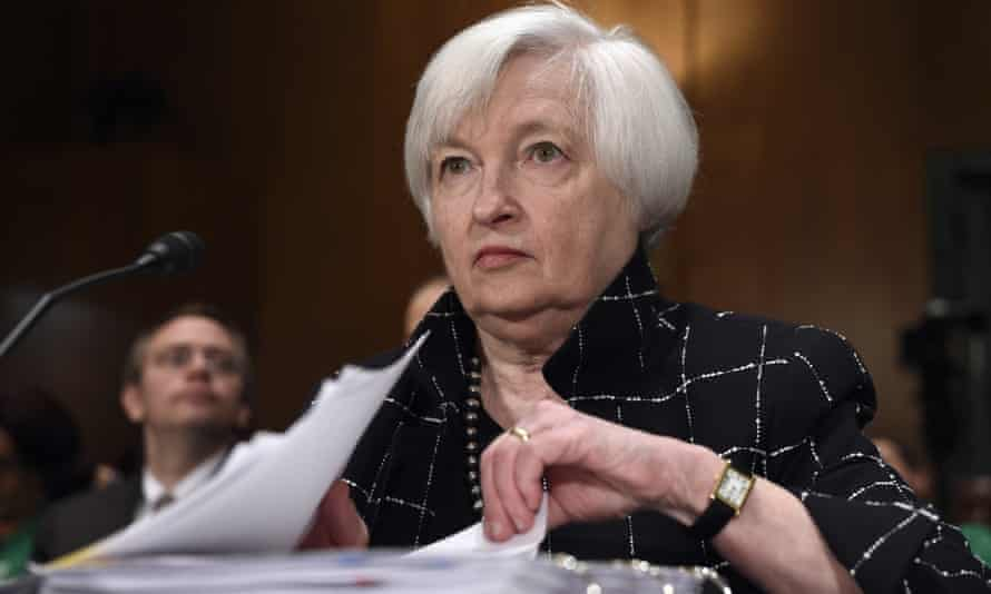 Federal Reserve minutes Janet Yellen