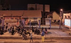 A screening in Dakar
