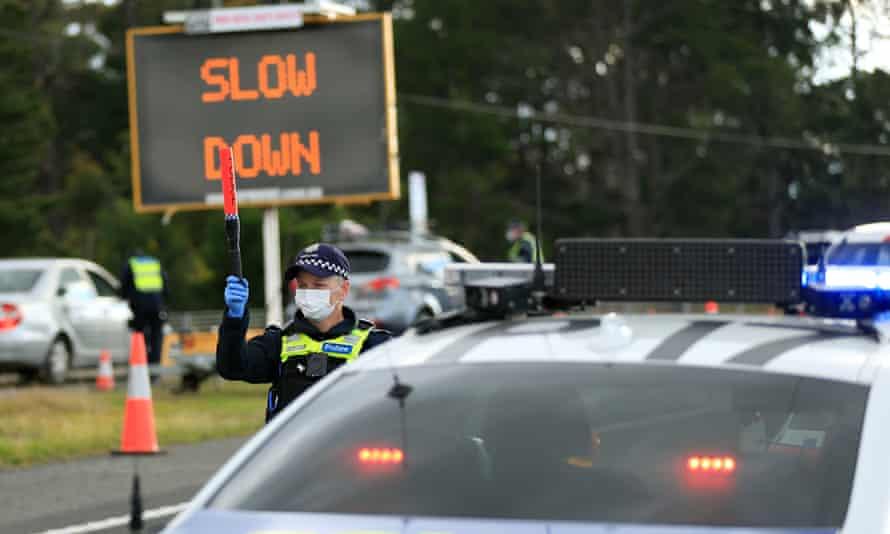 Victoria police check