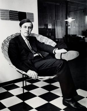 British designer Terence Conran photographed in 1956, the year he started his design practice.