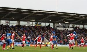 Shrewsbury Town's New Meadow ground