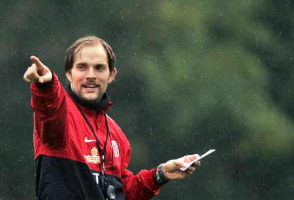 Tuchel at Mainz in the 2010-11 season when he steered them to fifth place in the Bundesliga and Europa League qualification.