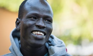Yiech Pur Biel took part in the Rio Olympics as part of the Refugee Olympic Team.