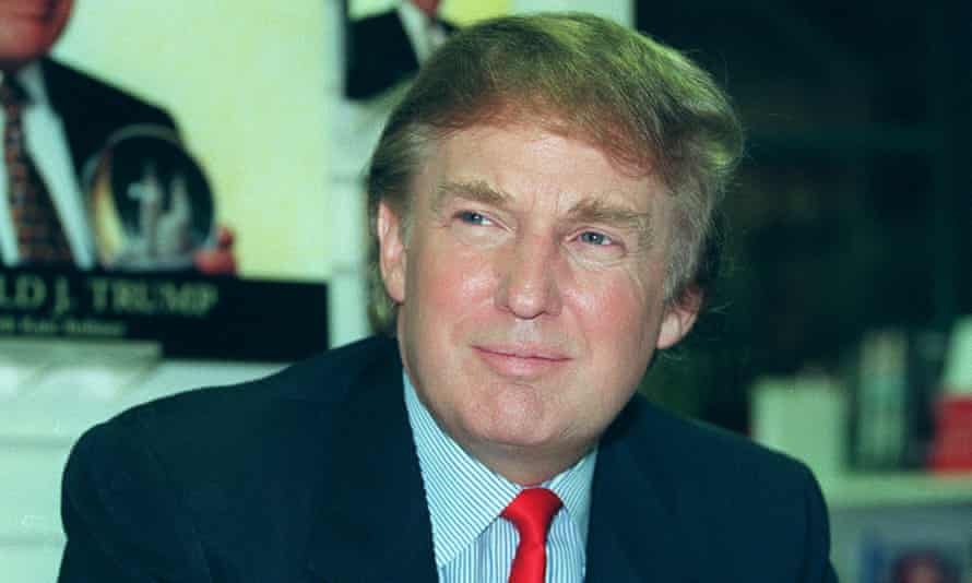 Donald Trump, seen in 1997, the year Heller recalls the incident taking place.