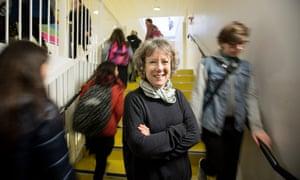 Carolyn Roberts  at Thomas Tallis school