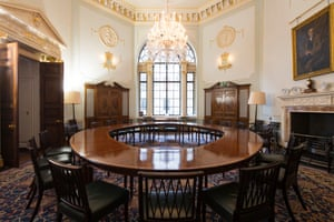 The Committee Room where the MPC meets each month. Parlours The Bank of England