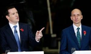George Osborne and Andrew Adonis