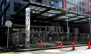 Rydges Hotel in Auckland