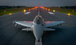 Typhoon fighter aircraft