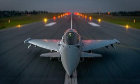 Typhoon fighter aircraft