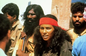 The 1994 film Bandit Queen, about Phoolan Devi, which Roy accuses of 'recreating her degradation for public consumption… without her consent'