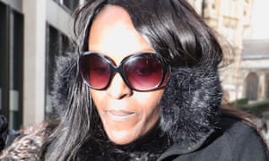 Fiona Onasanya arriving at the Old Bailey for sentencing.