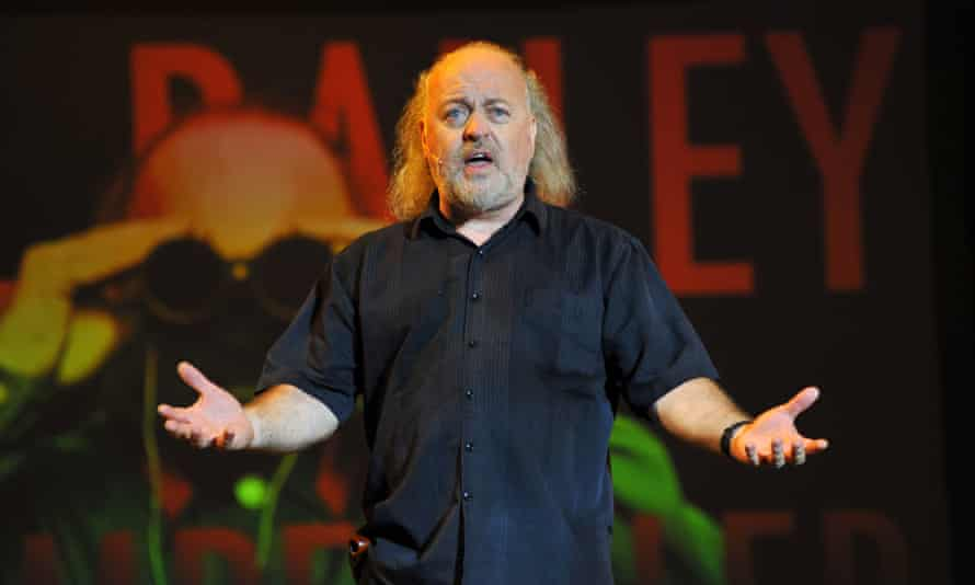 Bill Bailey on stage.