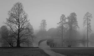 The Sackler crossing, Royal Botanic Gardens, Kew, London.